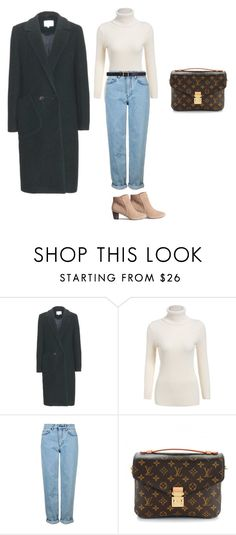 """Untitled #8"" by explorer-14499351471 on Polyvore featuring Carven, Topshop, H&M, Louis Vuitton and Maison Margiela"