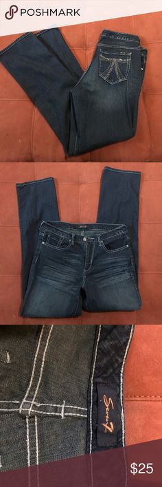 7 For All Mankind Jeans VEUC. 7FAMK jeans. 32in inseam. 9in front rise. 7 For All Mankind Jeans Boot Cut