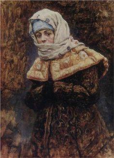 Young lady - Vasily Surikov