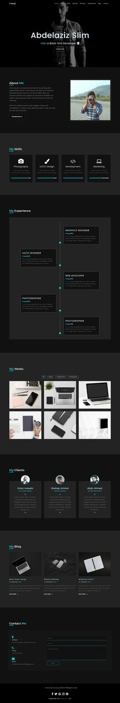 Friend_814 is a simple and clean responsive #HTML5 #bootstrap template for your personal #resume, CV or your #portfolio website download now➩ https://themeforest.net/item/friend_814/19739119?ref=Datasata