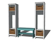 Ana White | Build a Single Locker Cabinet | Free and Easy DIY Project and Furniture Plans