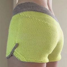 Crochet Shorts Pattern, Knit Crochet, Summer Knitting, Baby Knitting, Backless Homecoming Dresses, Knitting Patterns, Crochet Patterns, Ballet Fashion, Knit Shorts
