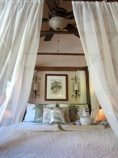 British Colonial Master Bedroom - tropical - bedroom - san francisco - Full Circle Interior Solutions