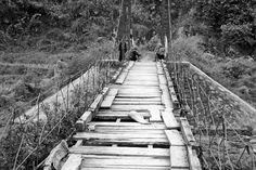 Bridge of life, couple broken steps, little shaky at times..but when u cross over one, then its on to the next one..