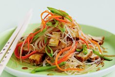 Use this recipe to make a Glass Noodle Salad.