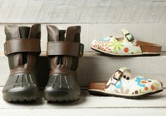 Birkis: Crazy for Clogs -   Help your kiddo explore with Birki's footwear. Stylish, these designs are loaded with comfortable features. Active Recovery™ footbeds feature arch support, a deep heel cup, heel-to-toe contact and toe grip. You'll love that your little one can exercise and recover naturally while t...  #Boot, #Clog