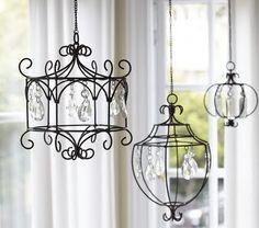 DIY chandelier.