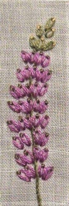 chain stitch #EmbroideryChainStitch