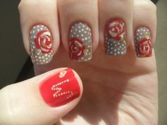 Mother's Day nail art