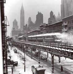 This is What Mass Transportation Looked Like Before Cars or Subways in NYC [PHOTOS] #nyc #newyork #big appled