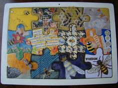 A BEE-UTIFUL Collaboration - PAPER CRAFTS, SCRAPBOOKING & ATCs (ARTIST TRADING CARDS) -Knitting, sewing, crochet, tutorials, children crafts, papercraft, jewlery, needlework, swaps, cooking and so much more on Craftster.org