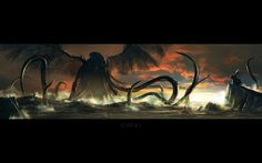 Cthulhu Monster Wings