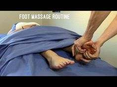 Massage Tutorial: Deep tissue foot massage techniques - YouTube