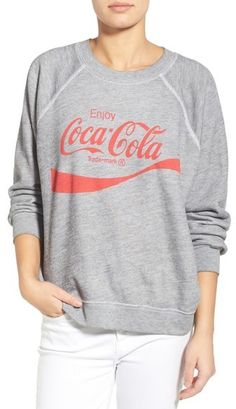d860cb9f849 Super soft raglan grey coca-cola sweat shirt. Wildfox  Coca-Cola ®