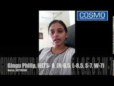 IELTS Training in Trivandrum - Gingu Philip @ COSMO Centre Scores 8 in IELTS Test, Kottayam - YouTube