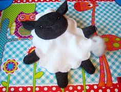Little lamb soft toy pattern & tutorial - Handmade Cuddles