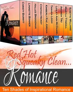 http://www.amazon.com/dp/B00NDGSOUQ  Now available for pre-order! Ten best-selling Inspirational romance authors bring you the Red Hot Squeaky Clean Romance collection! Enjoy romance that is piping hot and stories that are clean. You're in for such a treat!   $0.99