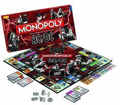 Monopoly versión AC DC | Juegos de Mesa y de Tablero