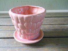 Large Pink Pebble Flower Pot. $21.00, via Etsy.