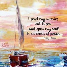 An ocean of peace is always within. #peace #calm #meditation For the app of beautiful wallpapers ~ www.everydayspirit.net xo