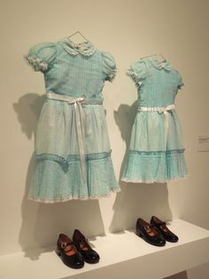 The shinning, twins dresses