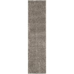 World Rug Gallery Harbor Shag Gray Indoor Mid-Century Modern Runner (Common: 2 x Actual: W x L) at Lowe's. This power-loomed cozy shag rug offers luxurious comfort and easy-to-design styling. The texture of this plush rug adds depth to the color, and the