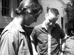 Wes Anderson's first film, the original B Bottle Rocket short from 1992. http://cinephilearchive.tumblr.com/post/53523081223
