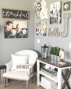 How to Create a Simple Gallery Wall - Collectively Christine