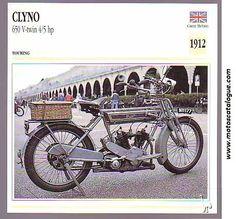 1912 Clyno (UK) 650 V-Twin 4/5hp.