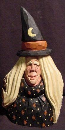 Hand Carved Halloween Pumpkin - Jack O Lantern $25.00, via ...