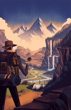 Awesome illustration  2014 LabelExpo on Behance