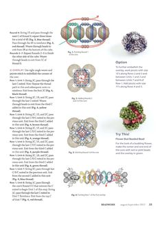 Making jewerly with bead Beaded Beads, Beaded Anklets, Beading Patterns Free, Beading Tutorials, Beaded Jewelry Designs, Embroidery Jewelry, Bead Art, Bead Weaving, Bead Crafts