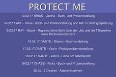 """Eine Leidenschaft für Bücher: Protect Me Expedition Tag 8 """"Interview mit Allie K..."""