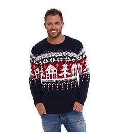de5a62a62b954 Envie de retomber en enfance grâce à ton pull de noël   Écoute, Rodolphe  qui fait du patin à glace sur ton pull moche, c est déjà pas mal …   Pull  Noël ...