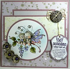 """Whimsy Stamps """"Sympathy Bugs"""""""