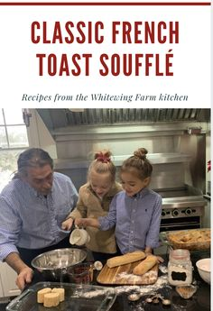 As Innkeepers & Grandparents, we love an overnight frech toast bake! Enjoy this recipe right from the Whitewing Kitchen-perfect for little hands to help! French Toast Souffle Recipe, Souffle Recipes, Love French, Perfect Food, Grandparents, Hands, Baking, Breakfast, Kitchen