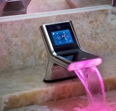 The Smart Faucet by Smart Gadgets eliminates 100% of water waste. Nearly 80 percent of freshwater wasted with reg. faucets. Motion-sensitive feature means you never have to touch the valves with your dirty hands again, preventing the spread of bacteria significantly. iHouse faucet uses facial recognition to adjust the water pressure and temperature to your individual preferences. Built in touch screen allows you to access your calendar and email while getting ready in the morning.