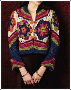 Crochet Sweater Vest Pattern Beautiful Ideas For 2019 Pull Crochet, Gilet Crochet, Mode Crochet, Crochet Cardigan Pattern, Crochet Jacket, Crochet Blouse, Crochet Poncho, Jacket Pattern, Crochet Baby