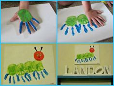 Here's a simple project to keep the little ones busy this weekend.