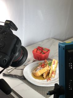 Behind the scenes of a Fresh! Strawberry French Toast, Test Kitchen, Florida, Fresh, Eat, Breakfast, Morning Coffee, The Florida