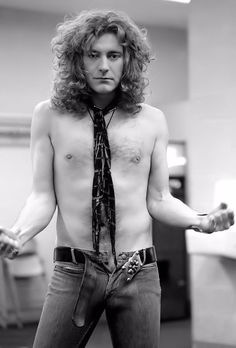 Robert Plant. of LED Zeppelin.