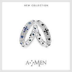 I nuovi anelli Rosario di Amen in argento 925 e pavè di bellissimi zirconi. www.amencollection.com