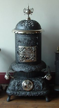 Antique Parlor Stoves,fancy stoves,museum quality