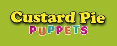 Custard Pie's new logo Custard, Puppet, Pie, Logo, Pinkie Pie, Chowder, Pastel, Logos, Fruit Flan