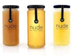 Nude Bee Honey Packaging