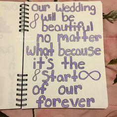 It will be For Devin's scrapbook/smashbook Couple Scrapbook, Wedding Scrapbook, Diy Scrapbook, Love Journal, Junk Journal, Wedding Stuff, Our Wedding, Wedding Ideas, Diy Crafts Life Hacks