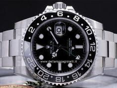 Rolex - GMT-Master II 116710 LN Cassa: acciaio - 40 mm Ghiera: ceramica Vetro: zaffiro Bracciale: oyster Chiusura: oysterlock con easylink Movimento: automatico