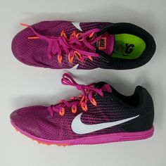 2e903bd9ec1ff Womens Nike Rival D Track Distance Spike Shoes Size 9.5 New 806560-601