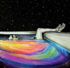 """""""The pool of dreams and sorrows"""" by KlarEm ~ You, yourself, are the eternal energy which appears as this universe. You didn't come into this world; you came out of it. Like a wave from the ocean. ~ Alan Watts"""