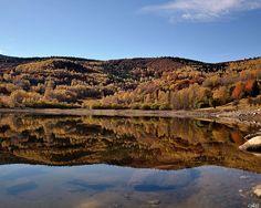 Reflets sur le lac, Ariége, Midi-Pyrénées